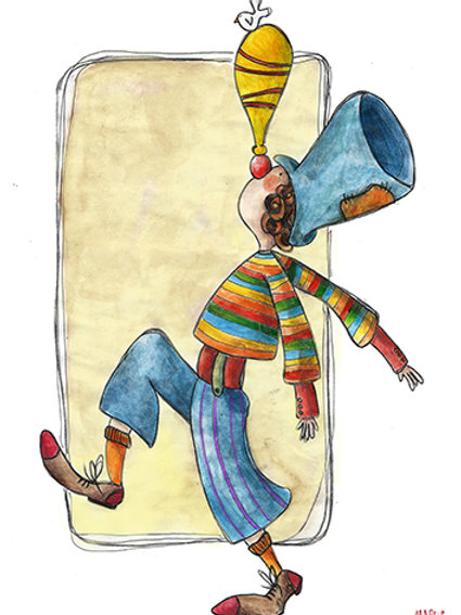 TRADITIONAL CLOWN
