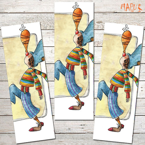 TRADITIONAL CLOWN - Bookmark