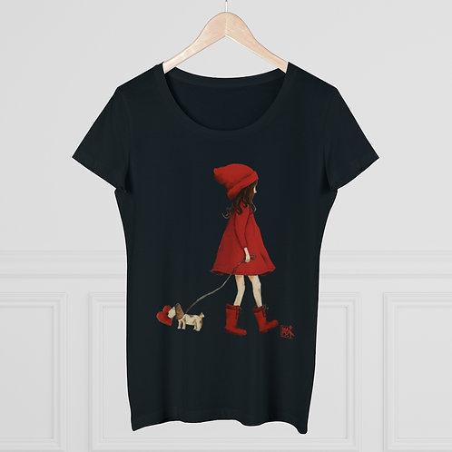 Organic Women's Lover T-shirt - It keeps my heart safe