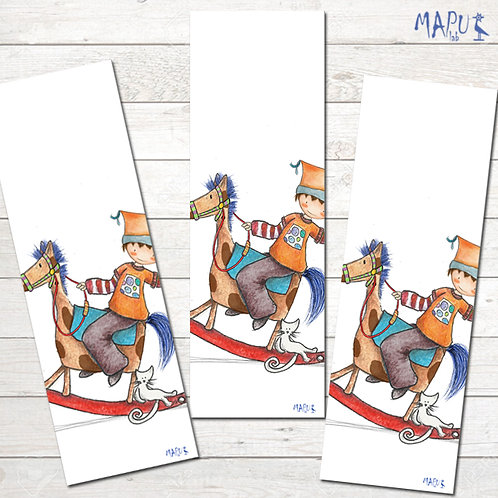 ROCKING HORSE - Bookmark