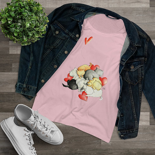 Organic Women's Lover T-shirt - Poblem solvers