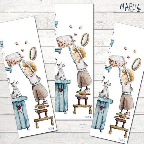 BISCUITS JAR - Bookmark