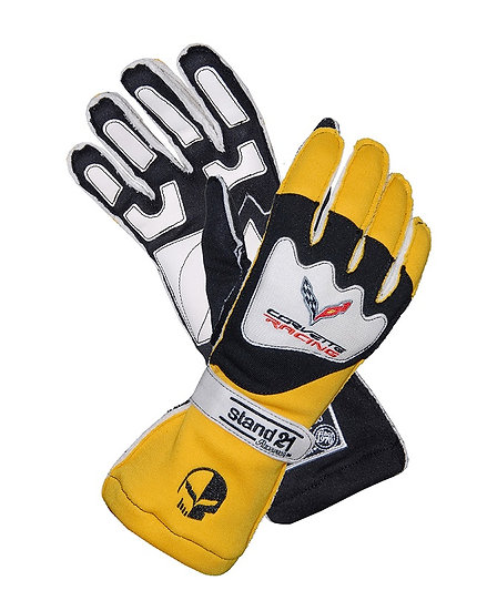 C7 Corvette Racing OSII Gloves