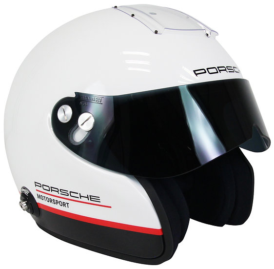 Porsche Motorsport IVOS Open Face Double Duty - FIA 8859-2015 / SA2015