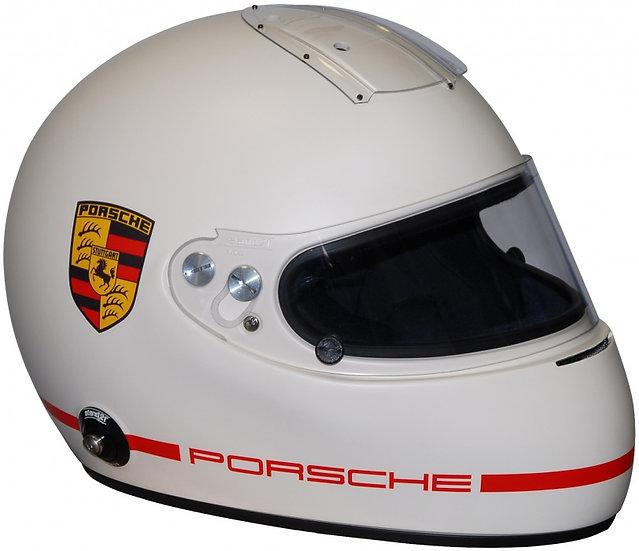 Porsche Rennsport IVOS Double Duty or Air-Force Helmet - FIA 8860
