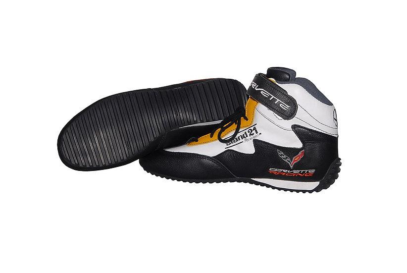 C7 Corvette Racing Boots with Multi-Purpose Sole