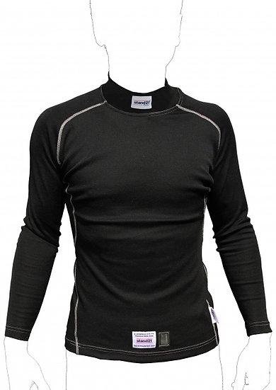 Top Fit Underwear Top - Black