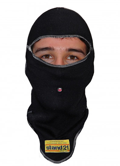 Black Top-Fit Balaclava