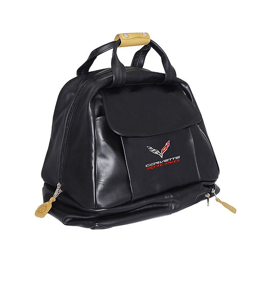 C7 Corvette Racing Leather Carrying Bag