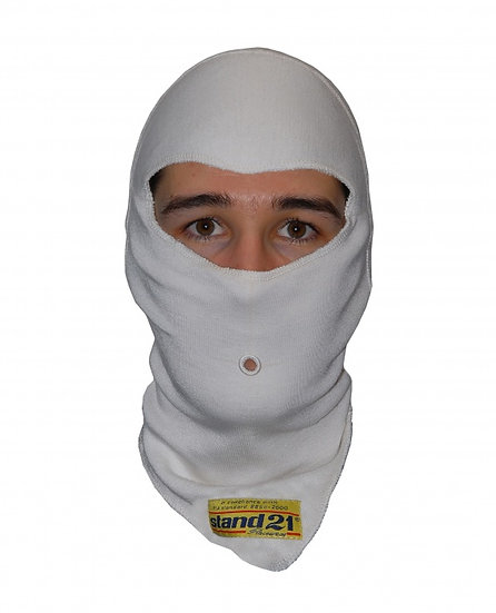 White Top-Fit Balaclava