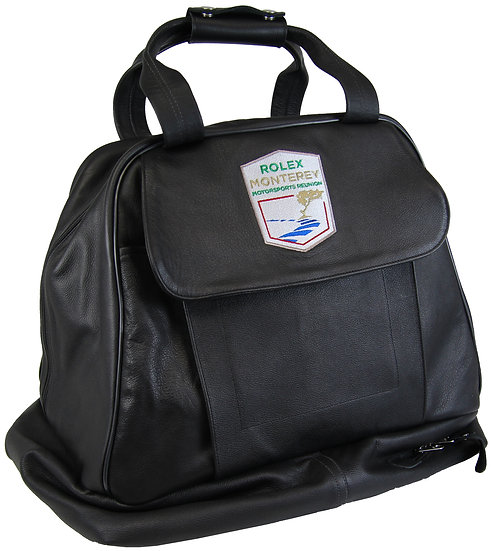 Rolex Motorsports Reunion Leather Carrying Bag