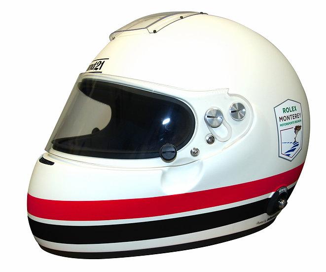 Rolex Motorsports Reunion IVOS Double Duty or Air-Force Helmet - FIA 8860