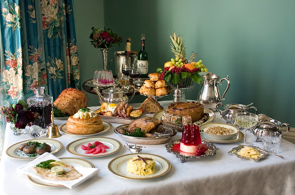 Victorian Breakfast (credit Greta Illiev