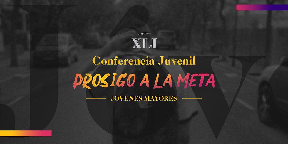 27 Feb. - Conferencia Juvenil (18 - 25 años) - Prosigo a la meta