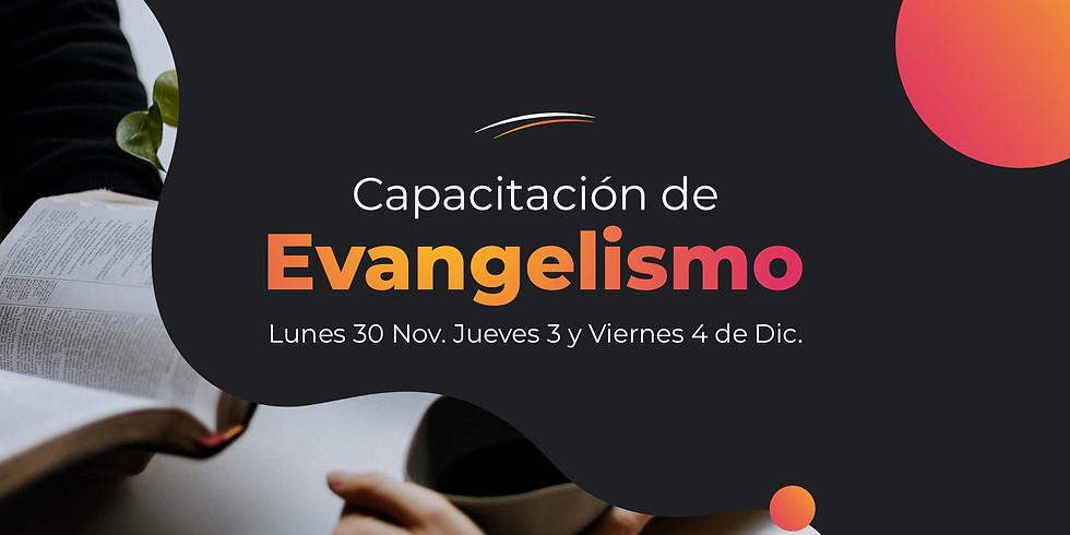 Capacitación de evangelismo
