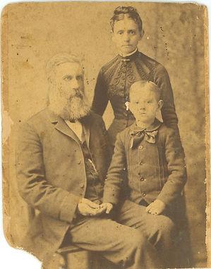 Samuel A. Purdie y familia Uno de los primeros pastores evangélicos en El Salvador