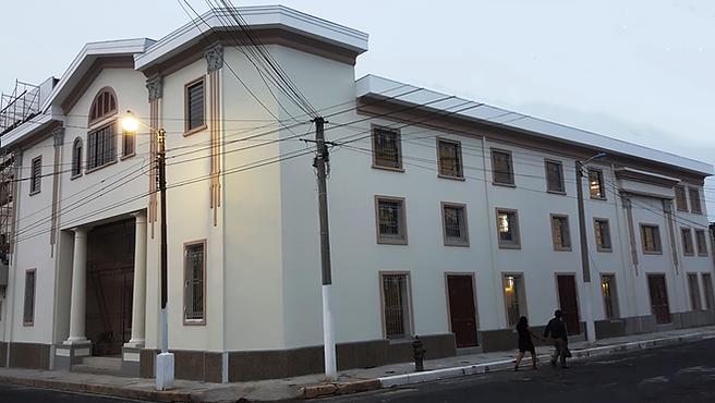 Iglesia Central Misión Centroamericana MCA, Primera iglesia evangélica en El Salvador
