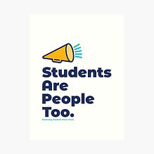 Students Are People Too Art Print