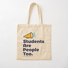 Students Are People Too Bag