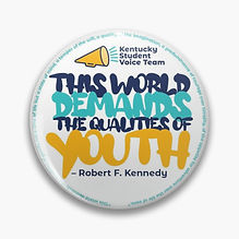 Qualities of Youth Button