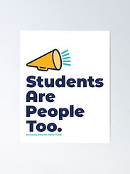 Students Are People Too Poster
