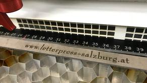Ledergravur meets Letterpress