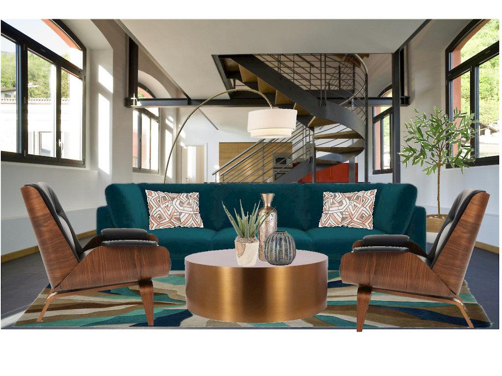 E-design living room photo
