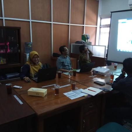 Silaturahim Sastra Inggris Universitas Muhammadiyah Purwokerto ke Sastra Inggris IAIN Surakarta