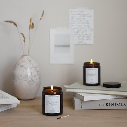 'Soulful Moments'  Apothecary Scented Candle