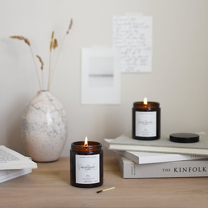 'Deep Tranquility' Apothecary Scented Candle