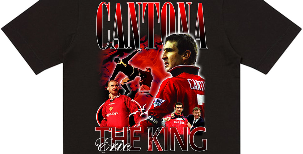 T-Shirt Eric Cantona