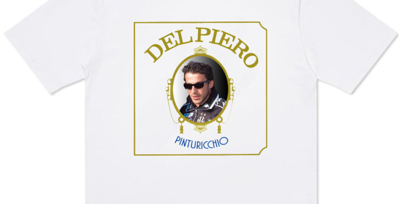 T-Shirt Del Piero feat Dre