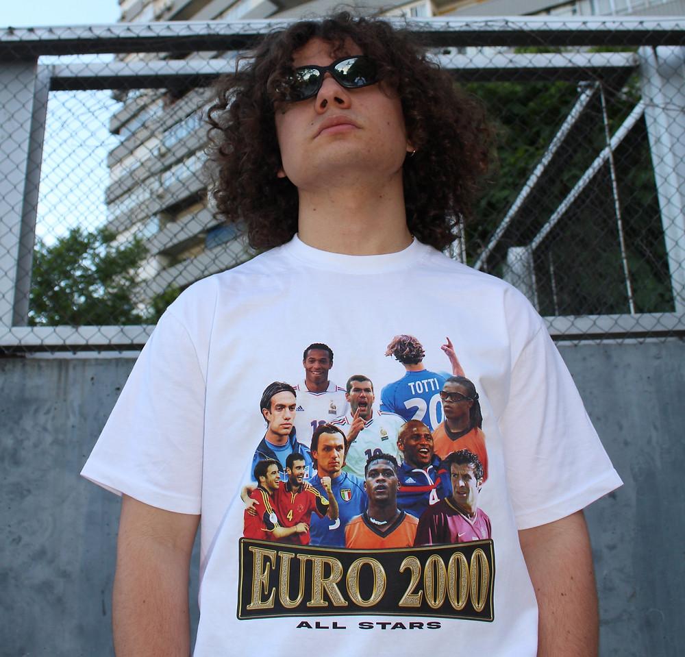 T-Shirt All Stars Euro 2000