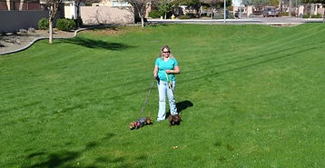 Paula enjoys dog walking & pet sitting in Peoria, Glendale, Sun City, Sun City West & Phoenix