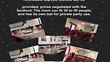 A Function Room For All Occasions