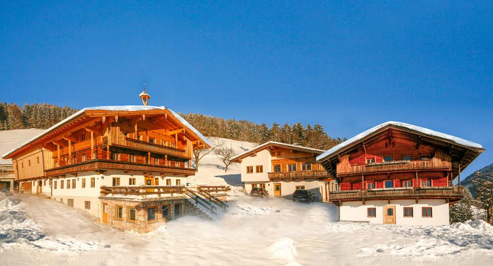 Der Köckenhof im Winter