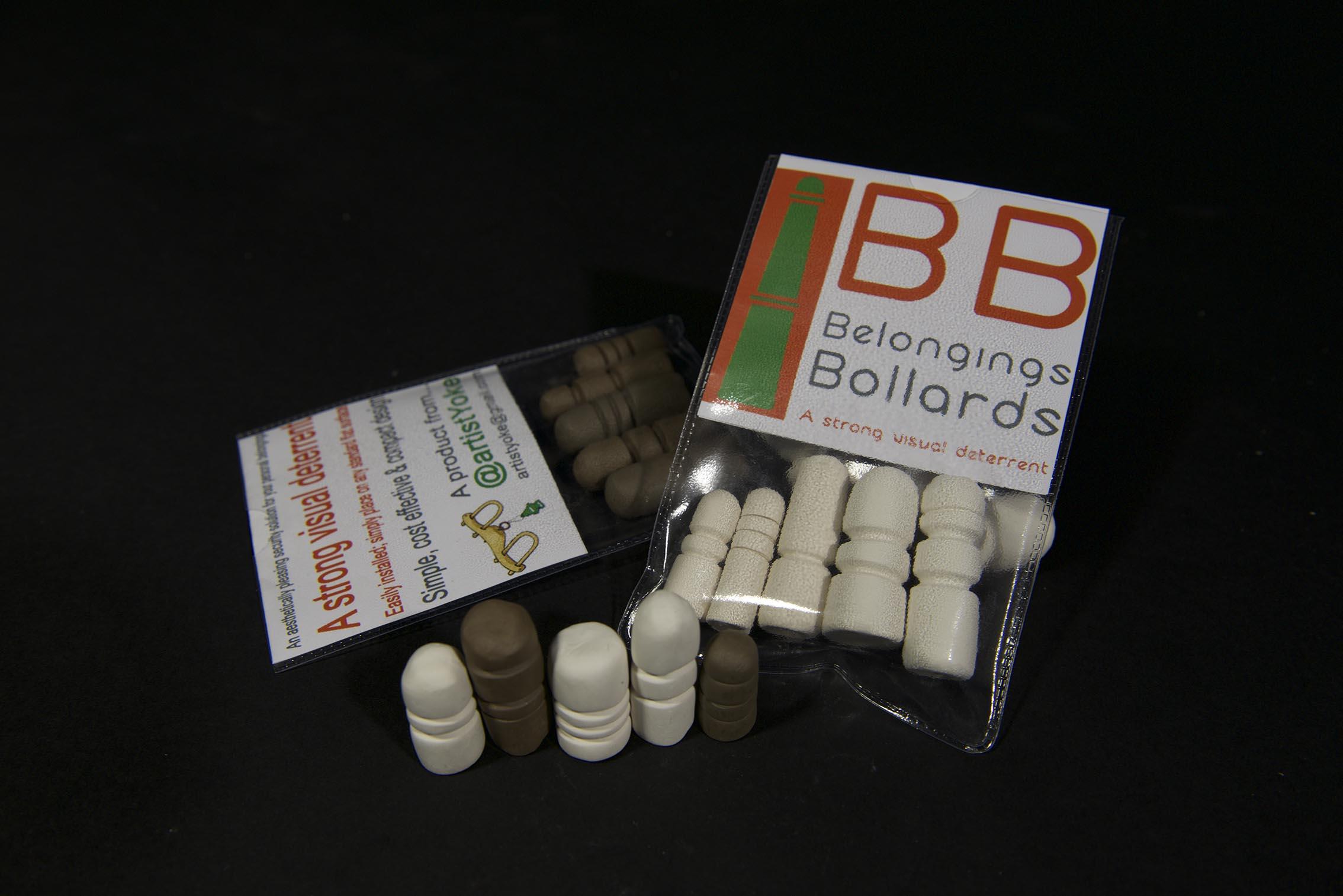 belongings bollards