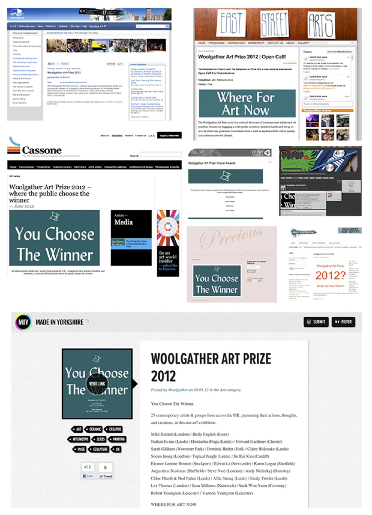 Woolgather Art Prize 2012