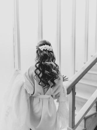 Peinado de Novia Paola - Gaby Bolivar Photography