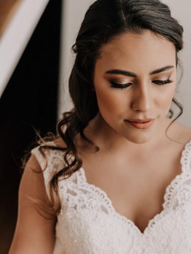 Maquillaje de novia Paola -Gaby Bolivar Photography