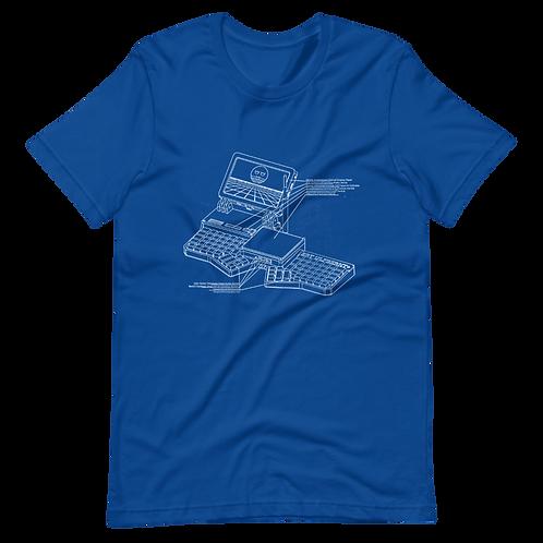 Cyberdeck Diagram Shirt (Blueprint Color Schemes)