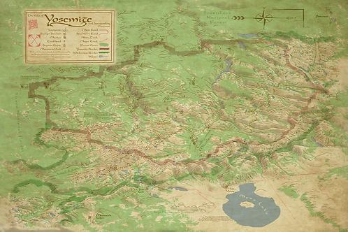 Yosemite Digital Map