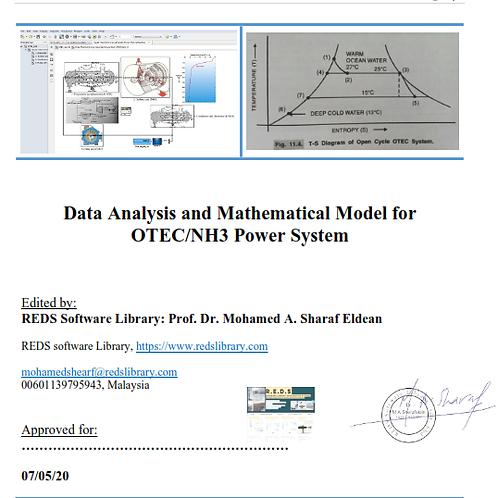 OTEC Mathematical Model & Design Analysis