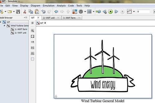Wind Turbines Model (AIO)