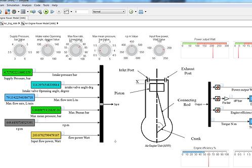 Air Power Engine: ANN Model