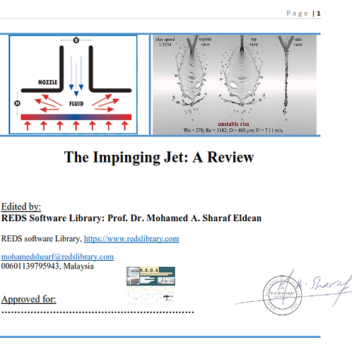A Review On Impinging Jet