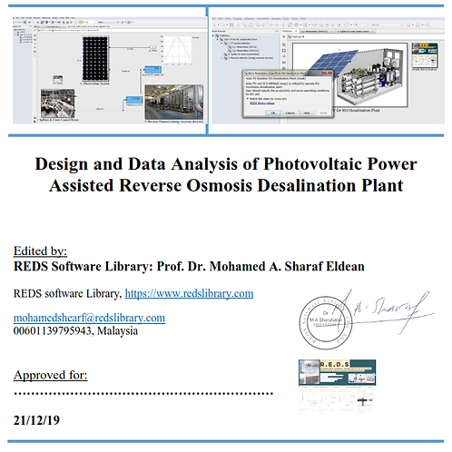 Design and Data Analysis of PV Power Assisted RO Desalonation Plant
