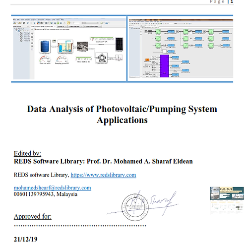 Mathematical Model of Photovoltaic Powered Centrifugal Pump