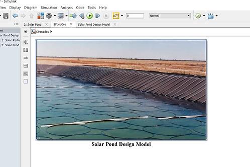 Solar Pond: Design Model