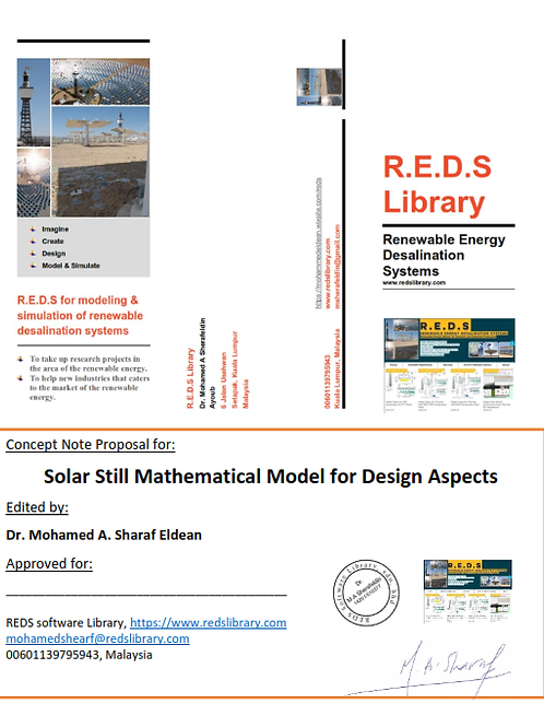 Solar Still Mathematical Model for Design Aspects: A Report and Model